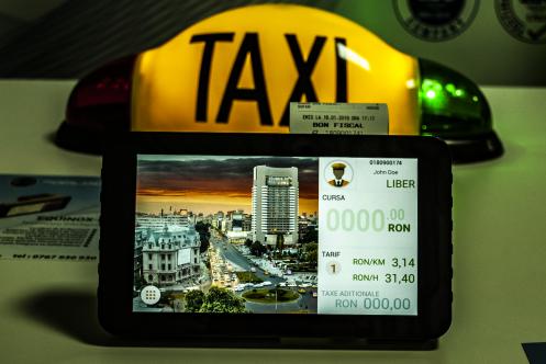 Aparatul cu care taximetriștii nu pot măslui prețul călătoriei